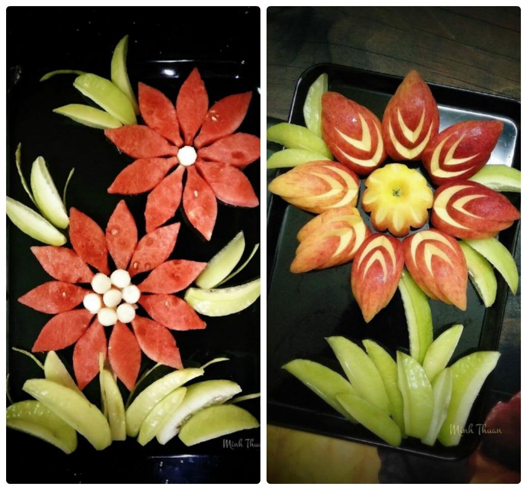"""Mê tít những đĩa hoa quả """"hoa lá cành"""" của nữ giảng viên Đại học - Ảnh 12."""