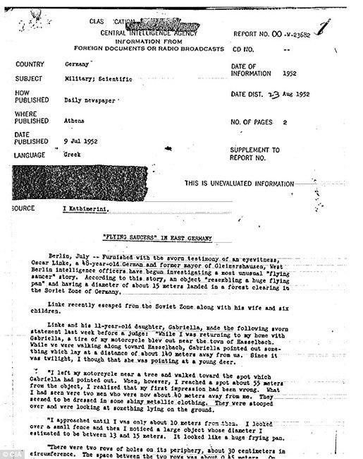 CIA công bố hàng nghìn tài liệu về UFO - Ảnh 3.