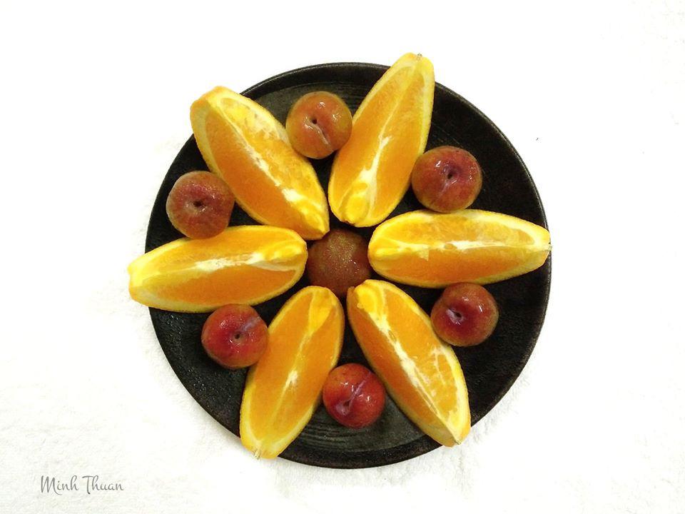 """Mê tít những đĩa hoa quả """"hoa lá cành"""" của nữ giảng viên Đại học - Ảnh 11."""
