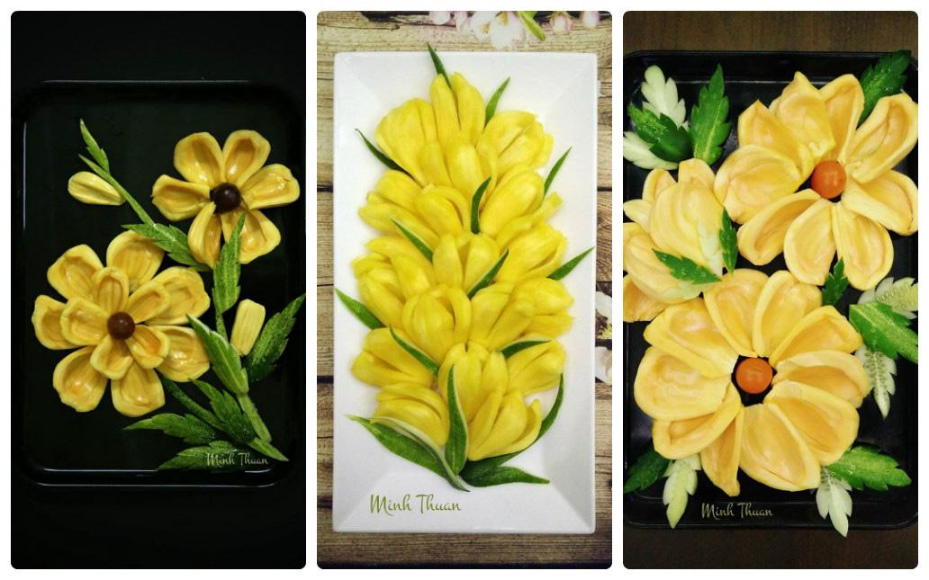 """Mê tít những đĩa hoa quả """"hoa lá cành"""" của nữ giảng viên Đại học - Ảnh 6."""