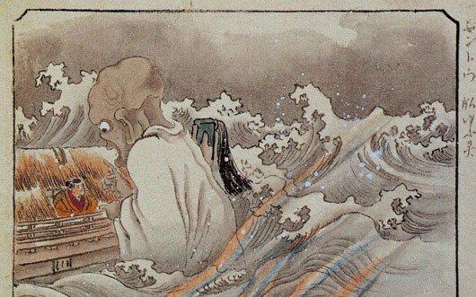 """Linh hồn ma quỷ """"chết trôi"""" trong văn hóa Nhật Bản"""