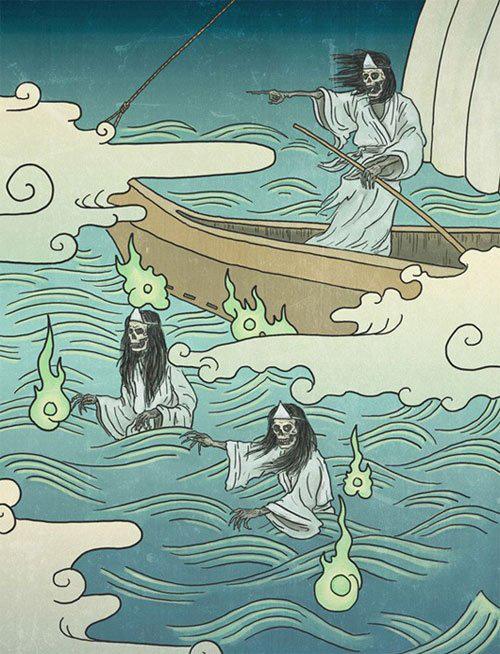 """Linh hồn ma quỷ """"chết trôi"""" trong văn hóa Nhật Bản - Ảnh 5."""