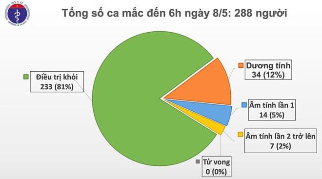 Số người chết vì COVID-19 trên thế giới vượt ngưỡng 270 nghìn, Việt Nam còn 34 ca dương tính - Ảnh 1.