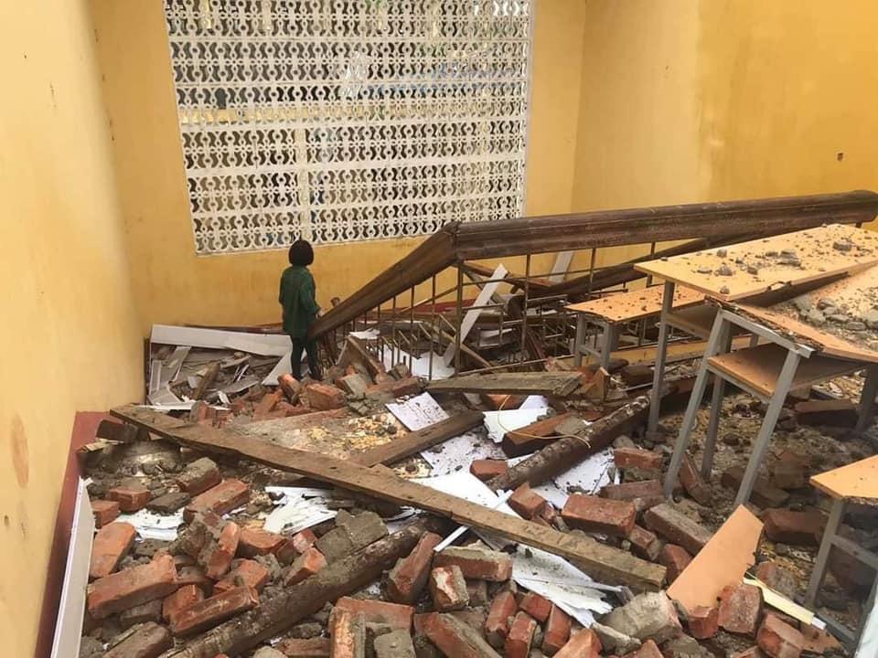 Thái Nguyên: mưa lớn, giông lốc làm hàng nghìn ngôi nhà tốc mái, thiệt hại 21,8 tỷ đồng - Ảnh 2.