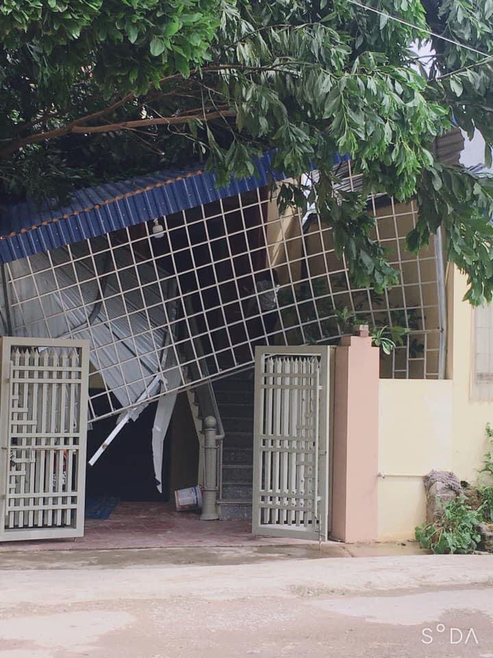 Thái Nguyên: mưa lớn, giông lốc làm hàng nghìn ngôi nhà tốc mái, thiệt hại 21,8 tỷ đồng - Ảnh 5.