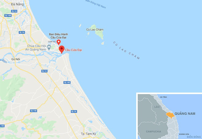 Tìm thấy 2 thi thể trong vụ lật ghe trên sông Thu Bồn - Ảnh 2.