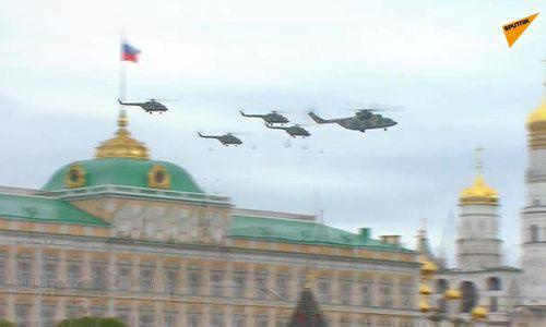 Video 75 máy bay Nga duyệt binh trên không kỷ niệm Ngày Chiến thắng - Ảnh 1.