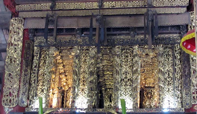 """Tỉnh nào của Việt Nam có """"Bảo vật Quốc gia"""" là cửa võng 5 tầng có rồng ngậm ngọc, đẹp trứ danh? - Ảnh 1."""