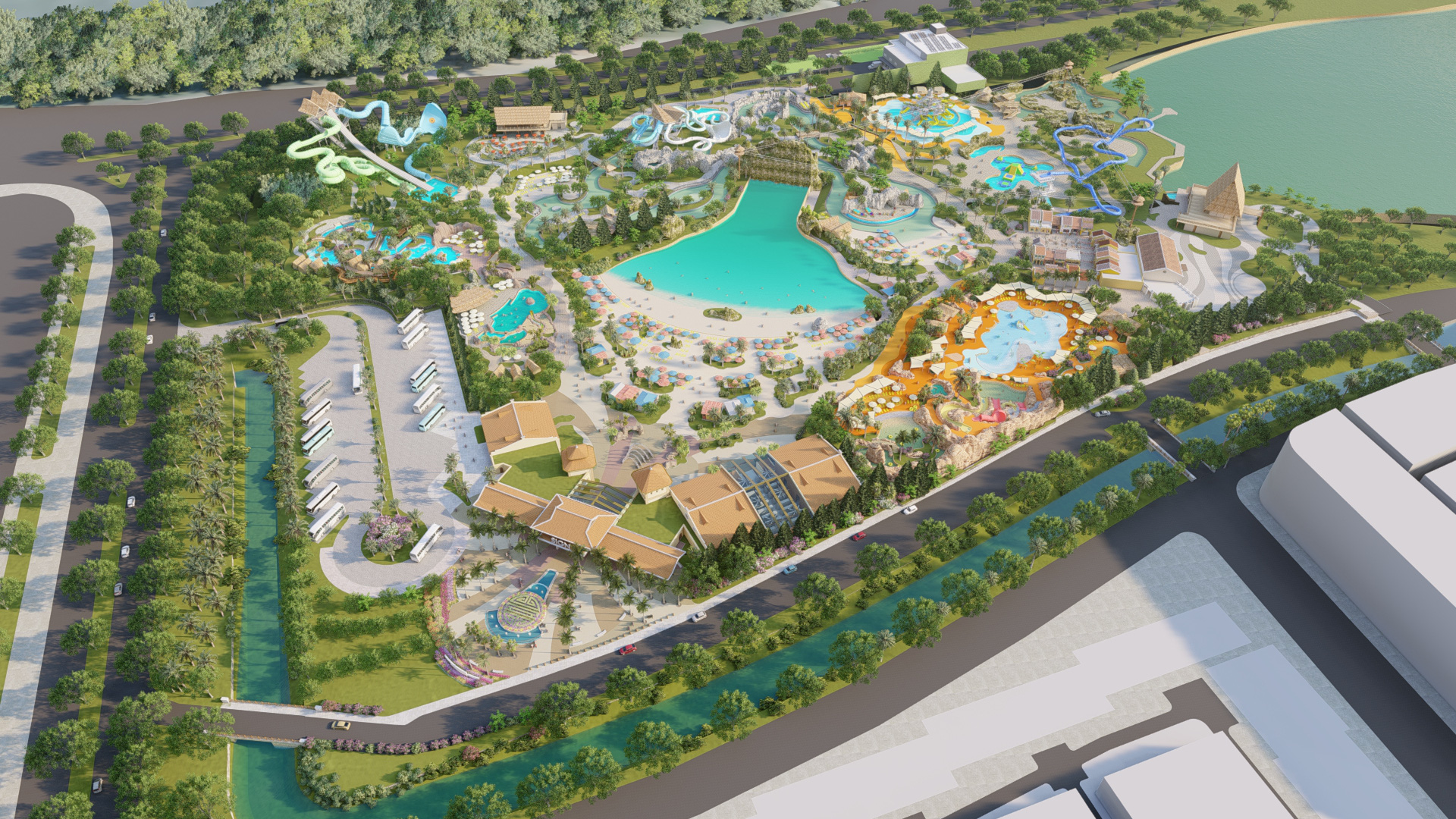 Công viên nước chuẩn quốc tế đầu tiên do Tập đoàn Samsung vận hành tại Phú Quốc - Ảnh 3.