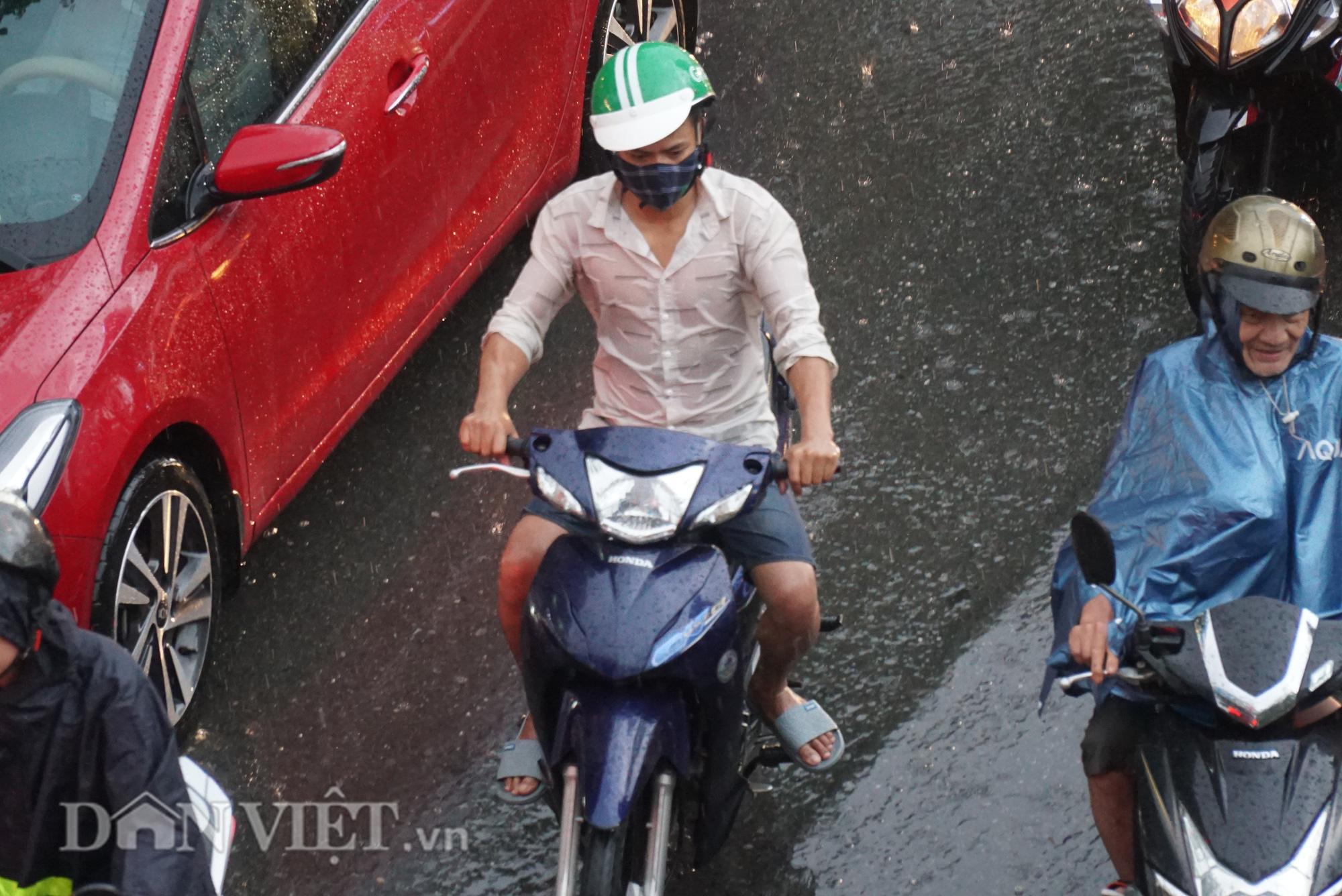 Hà Nội giảm 10 độ sau cơn mưa vàng - Ảnh 5.