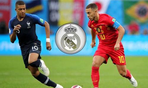 Mbappe đến Real Madrid, Hazard sang PSG?