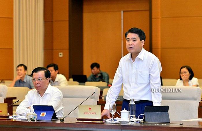 Chủ tịch Nguyễn Đức Chung: Hà Nội xin giữ số tiền để xây dựng đường sắt đô thị - Ảnh 1.