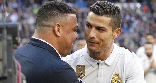 Ro béo và Cristiano Ronaldo.