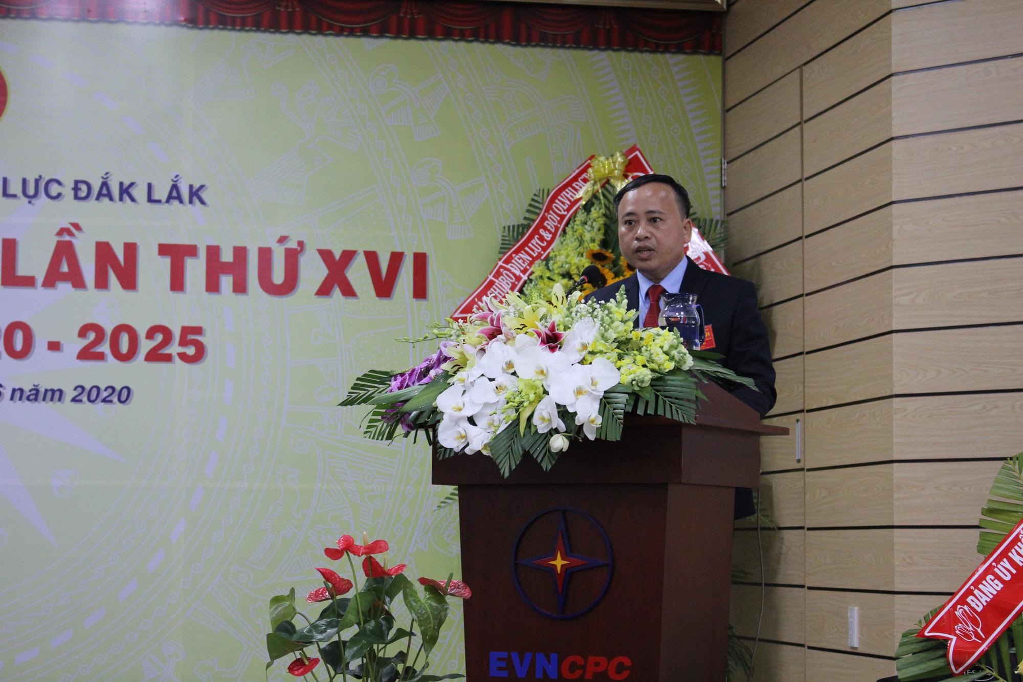 Công ty Điện lực Đắk Lắk tổ chức thành công Đại hội Đảng bộ lần thứ XVI, nhiệm kỳ 2020-2025 - Ảnh 1.