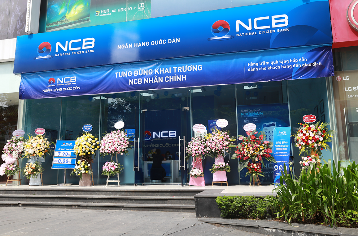 NCB khai trương phòng giao dịch Nhân Chính - Ảnh 1.