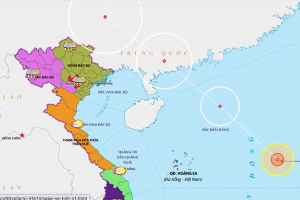Áp thấp nhiệt đới vào biển Đông, mạnh lên thành bão, Ban Chỉ đạo phòng chống thiên tai ra công điện khẩn - Ảnh 1.
