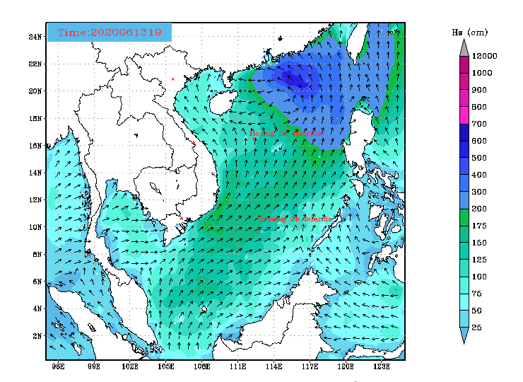 Tin mới nhất về cơn bão số 1: Từ đêm nay đến 15/6, mưa toàn miền Bắc từ vừa đến to và rất to - Ảnh 2.