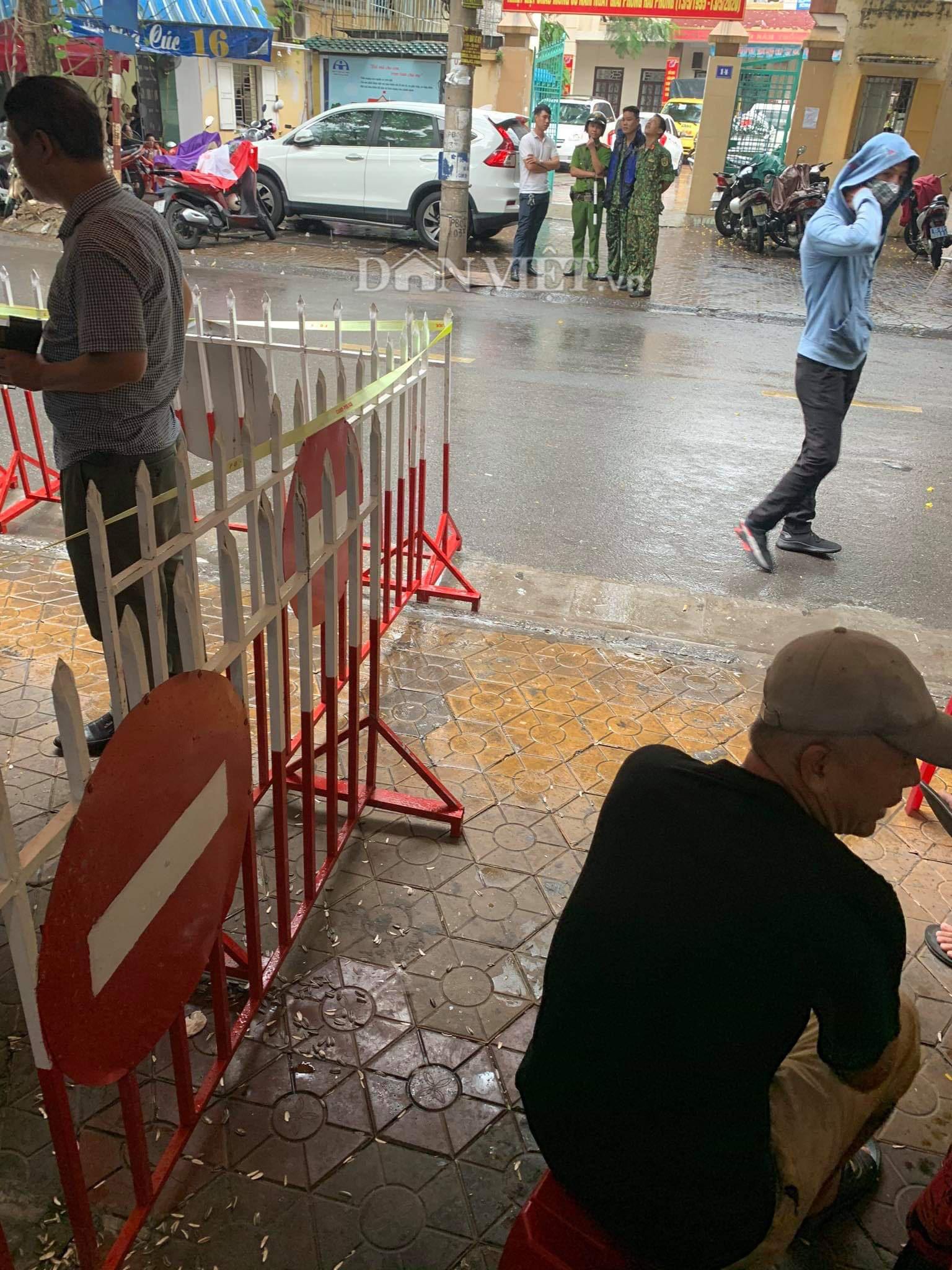 Hải Phòng: Nổ súng ở đường Phan Bội Châu - Ảnh 1.