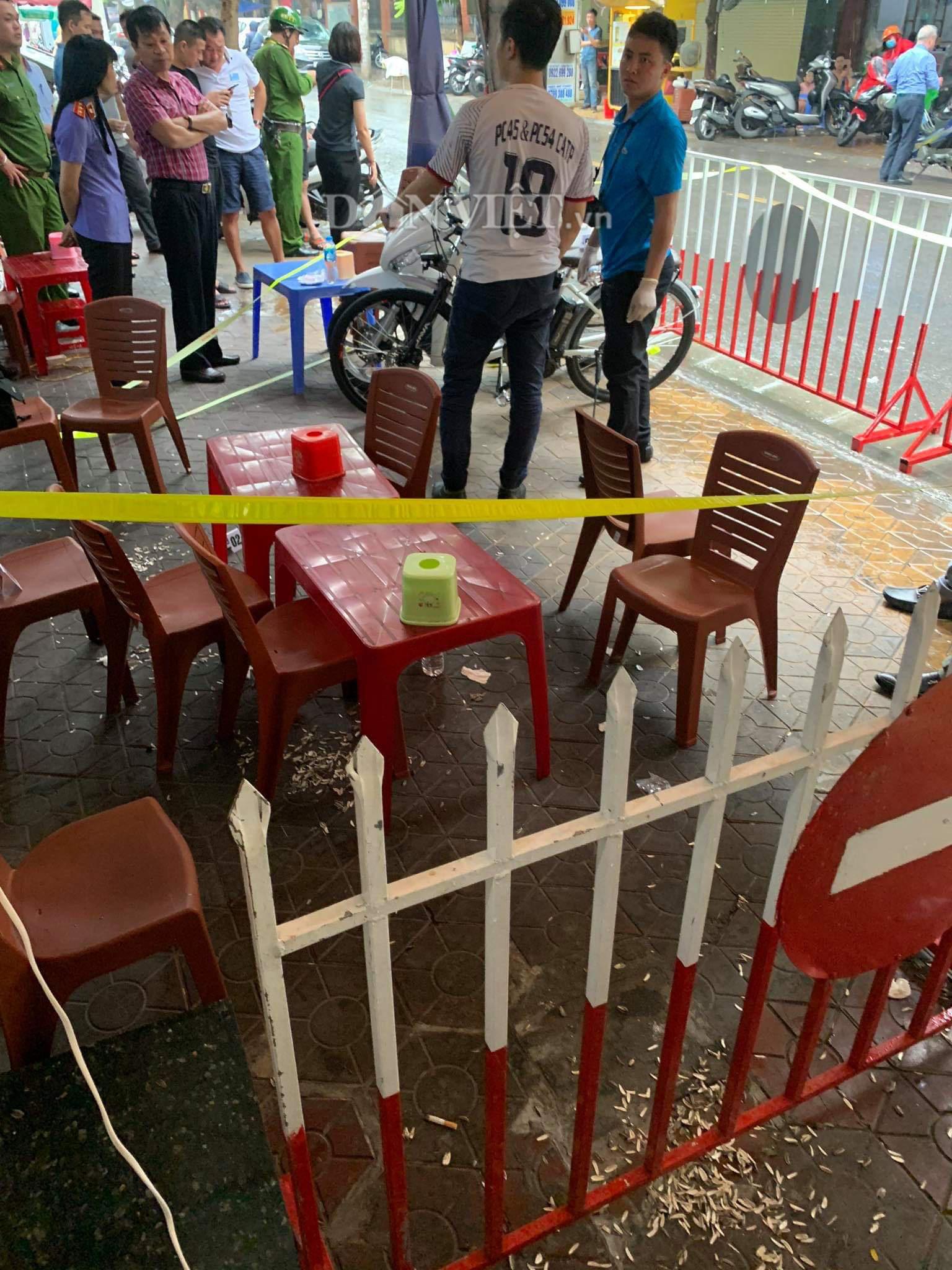 Hải Phòng: Nổ súng ở đường Phan Bội Châu - Ảnh 2.