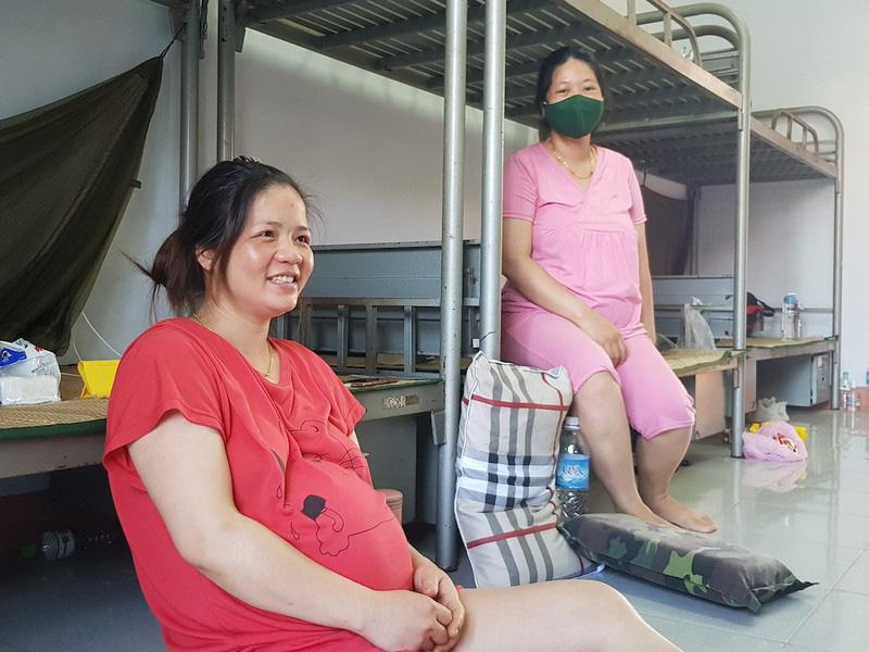 Bà bầu về từ Đài Loan đang cách ly hạ sinh bé gái nặng 3kg - Ảnh 2.