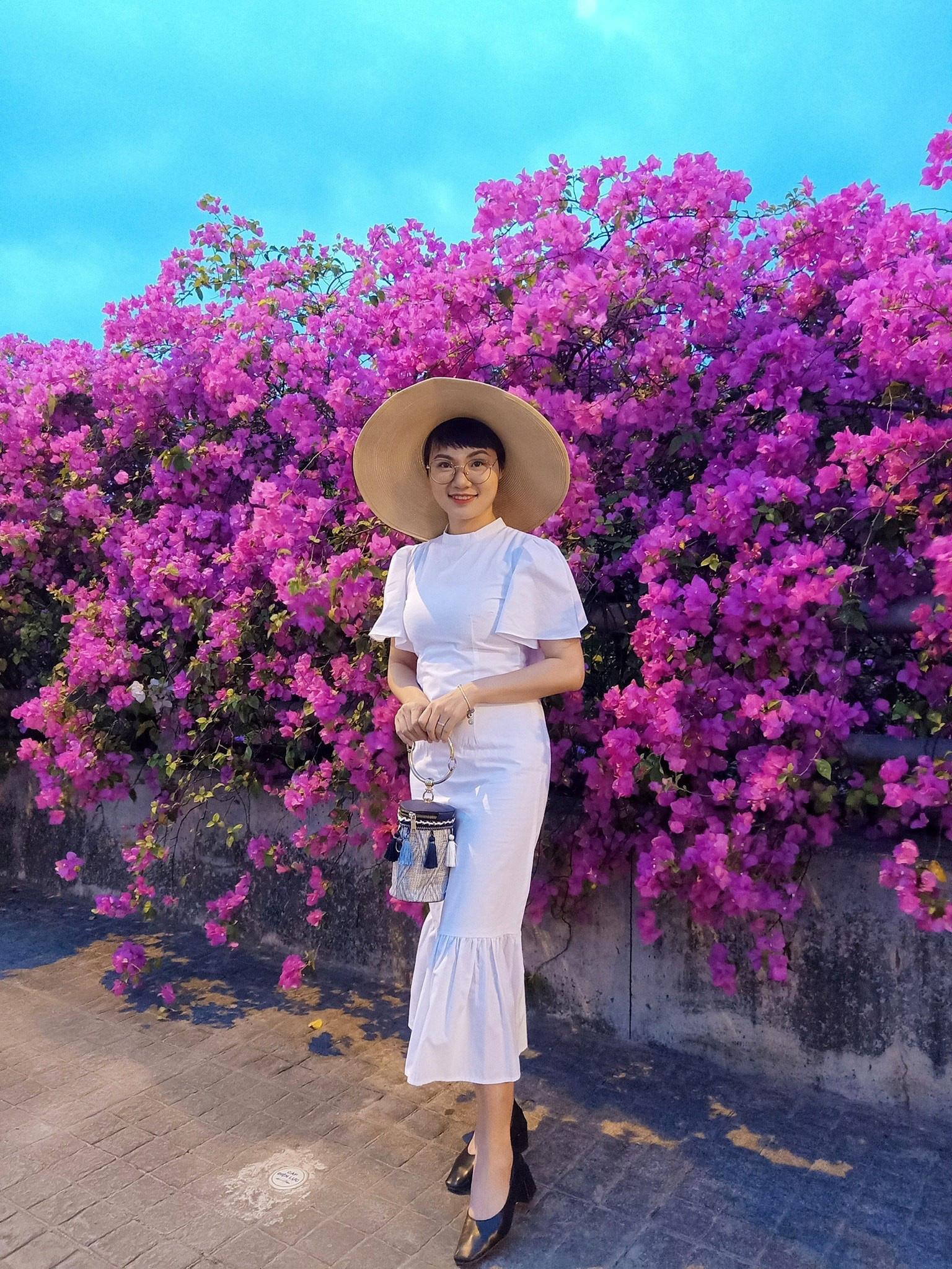 Vệt hoa giấy nhuộm tím một góc khu đô thị Ecopark - Ảnh 15.