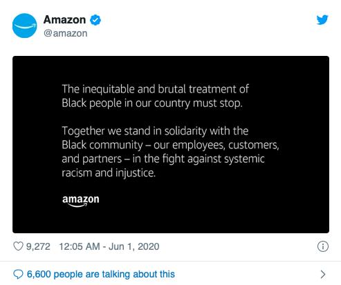 Apple, Amazon và các tập đoàn lớn hành động gì giữa biểu tình ở Mỹ? - Ảnh 1.