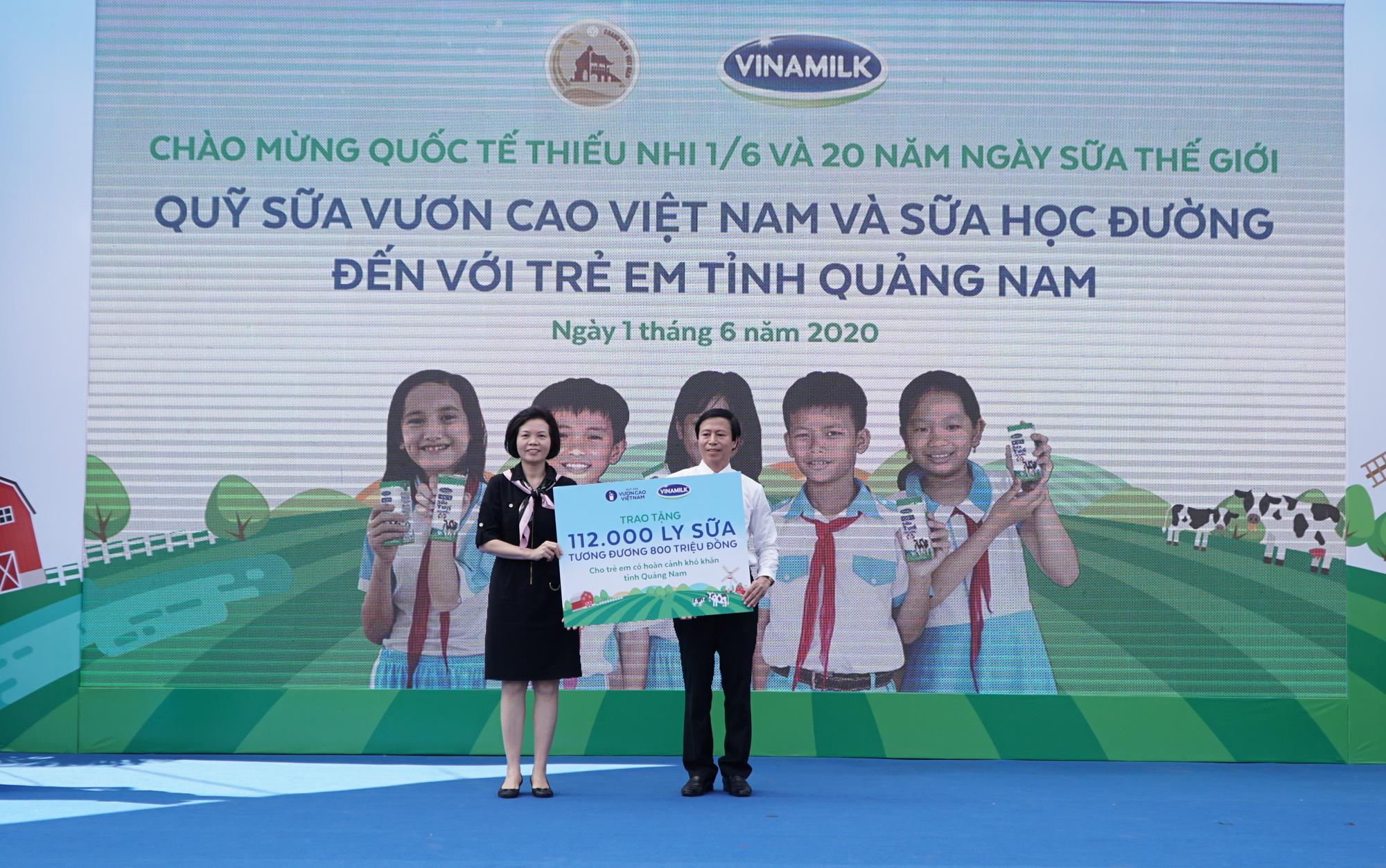 Quảng Nam: Hơn 34.000 trẻ em miền núi, khó khăn được uống Sữa học đường - Ảnh 3.