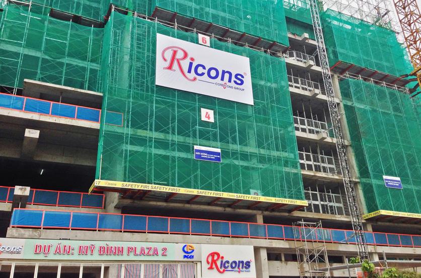 Ricons vừa thành viên, vừa là đối thủ của Coteccons hiện nay