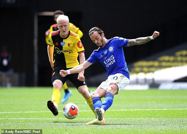 Leicester mất điểm đầy tiếc nuối, HLV Rodgers vẫn cảm thấy... vui - Ảnh 1.