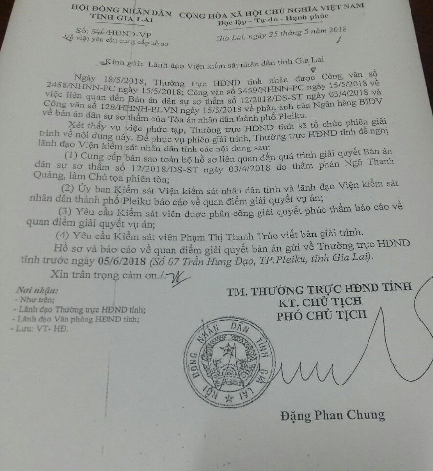 Xin ý kiến Ủy ban Thường vụ Quốc hội xử lý Phó Chủ tịch HĐND tỉnh Gia Lai - Ảnh 3.