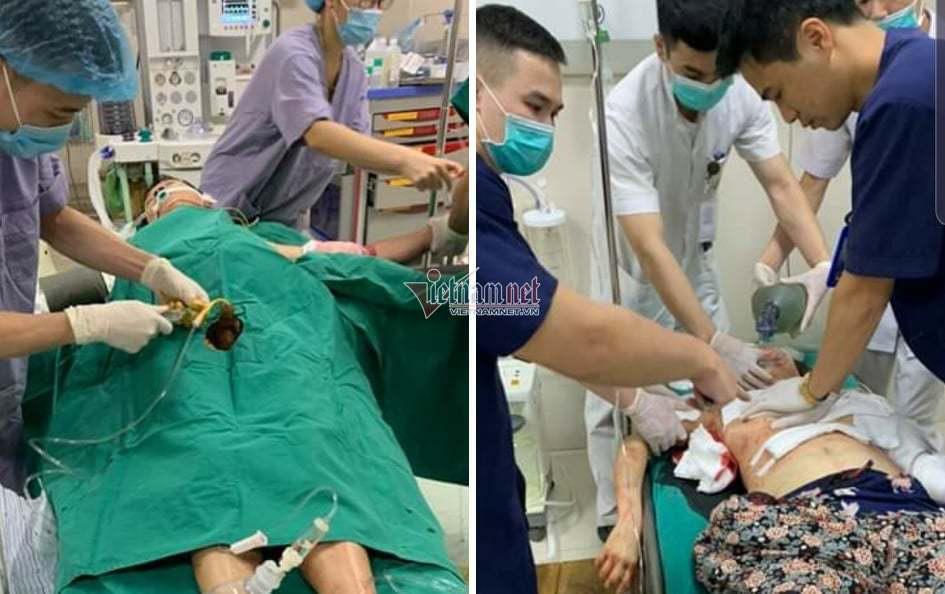 Nóng: 3 người trong một gia đình bị chém thương vong ở Phú Thọ - Ảnh 1.