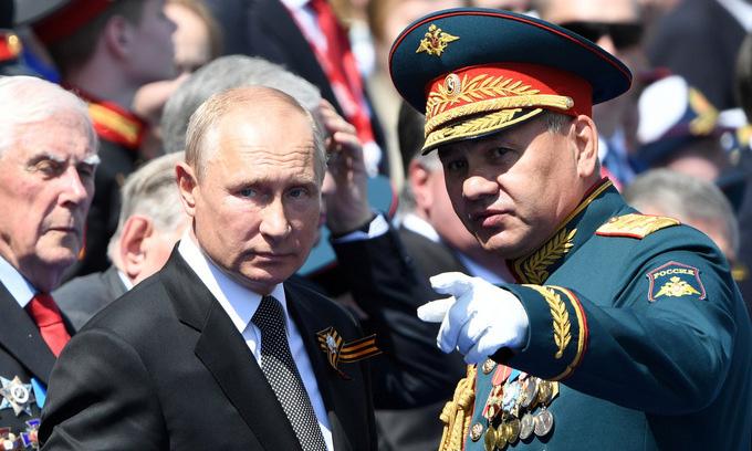 Hai thông điệp Nga phát đi từ lễ Duyệt binh Chiến thắng - Ảnh 2.