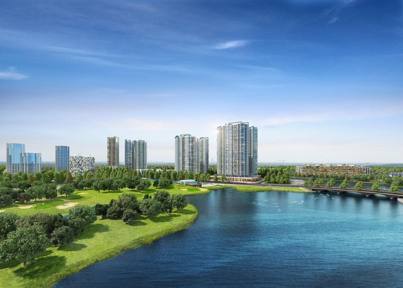 Đông Hà Nội có khu đô thị sở hữu thiết kế cảnh quan đẹp nhất thế giới - Ảnh 1.
