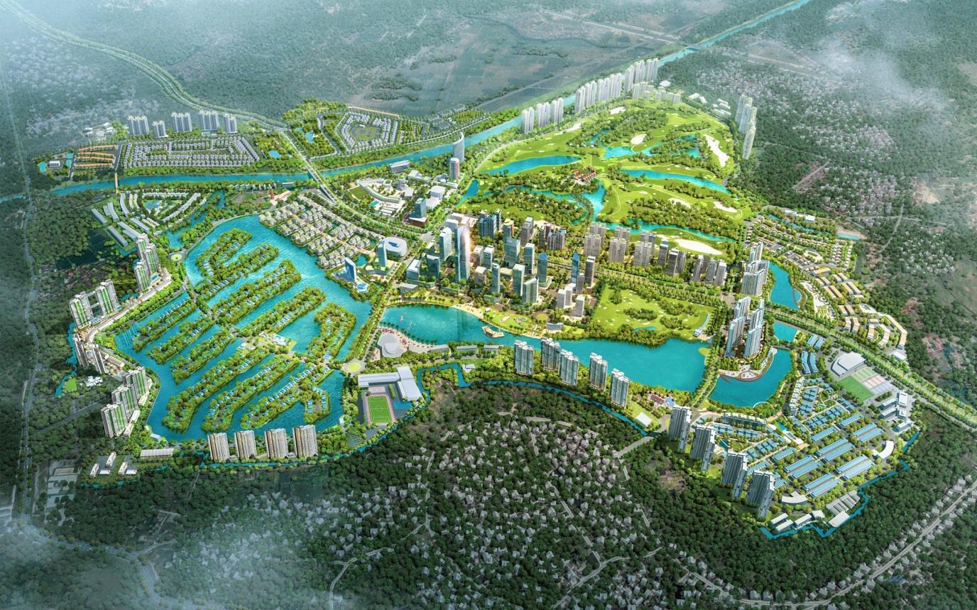 Đông Hà Nội có khu đô thị sở hữu thiết kế cảnh quan đẹp nhất thế giới - Ảnh 2.