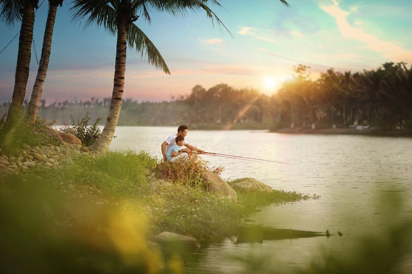 Đông Hà Nội có khu đô thị sở hữu thiết kế cảnh quan đẹp nhất thế giới - Ảnh 5.
