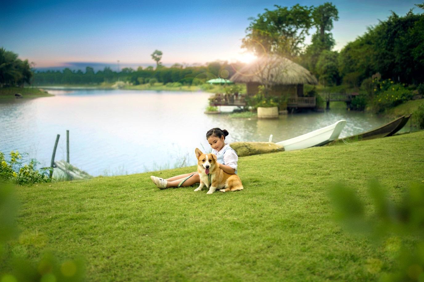 Đông Hà Nội có khu đô thị sở hữu thiết kế cảnh quan đẹp nhất thế giới - Ảnh 6.