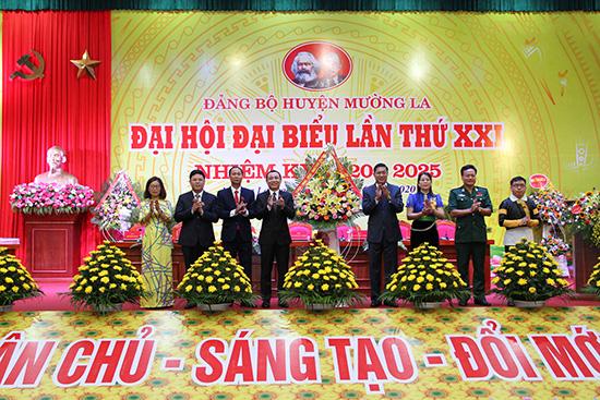Đảng bộ huyện Mường La quyết tâm hoàn thành 19 chỉ tiêu trong nhiệm kỳ 2020 - 2025 - Ảnh 4.