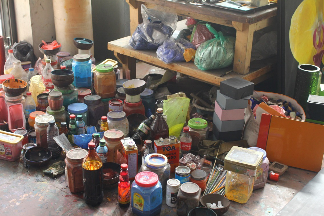 Làng nghề Hạ Thái: Nỗi lo sơn mài truyền thống biến thành sơn mài công nghiệp - Ảnh 5.