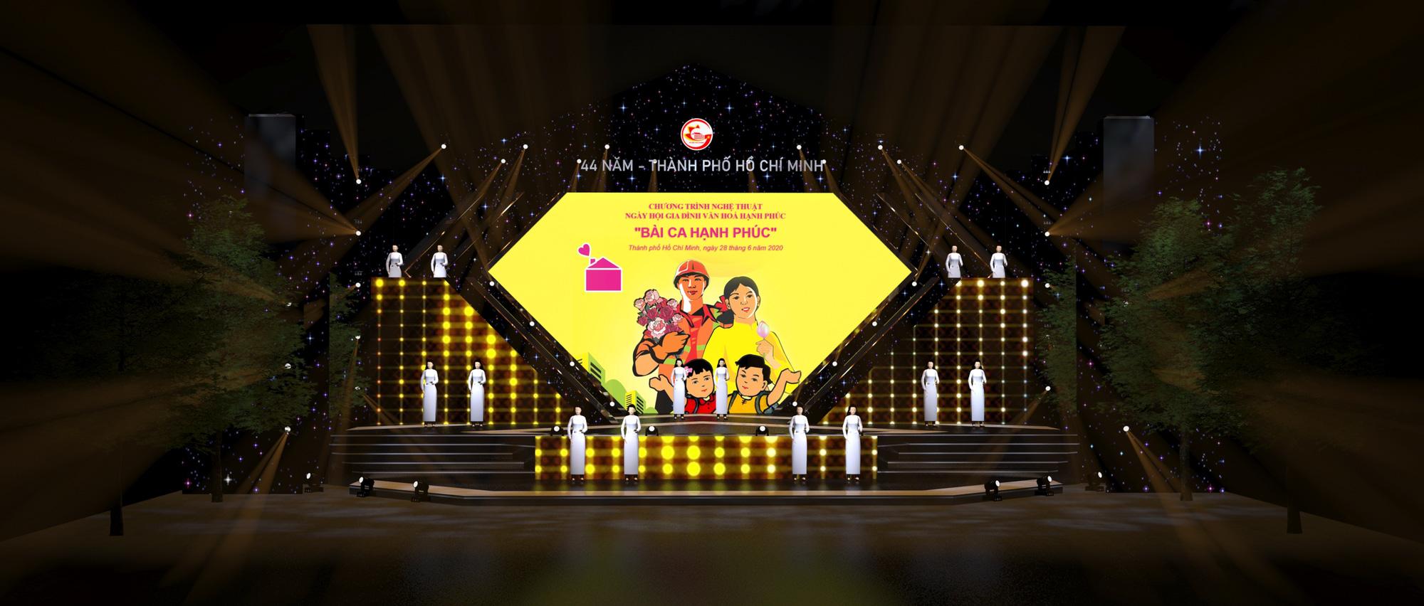 Đan Trường, Hiền Thục trình diễn chào mừng ngày Gia đình Việt Nam - Ảnh 2.