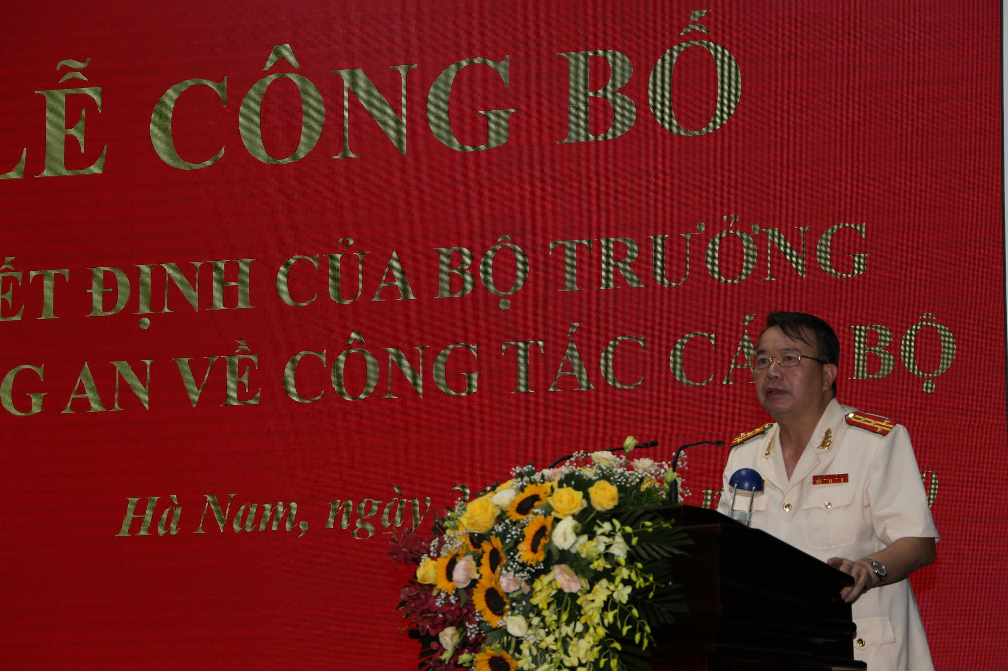 Giám đốc Công an Hà Nam làm Cục trưởng Cảnh sát giao thông thay Trung tướng Vũ Đỗ Anh Dũng - Ảnh 1.