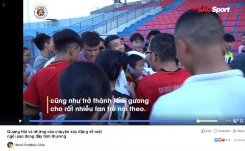 Hà Nội FC lấy lại hình ảnh cho Quang Hải giữa tâm bão - Ảnh 2.