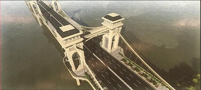 Hình ảnh về cầu Trần Hưng Đạo nối quận Hoàn Kiếm - Long Biên - Ảnh 3.