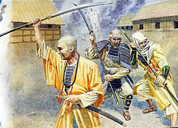 Sohei: Những tăng binh quả cảm nhất trong thời phong kiến Nhật Bản - Ảnh 6.