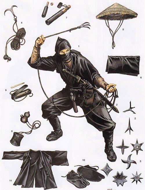 Những pháp thuật đáng sợ của Ninja - Ảnh 6.