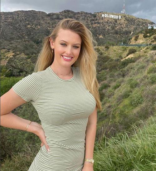 Golf thủ đẹp như thiên thần khoe vòng 1 'triệu người mê' - Ảnh 4.