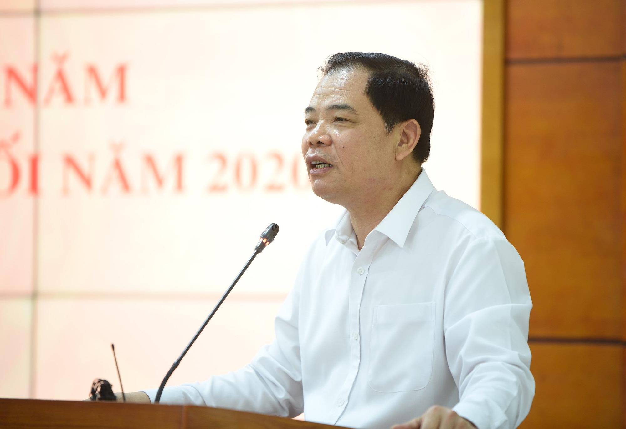 """Bộ trưởng Nguyễn Xuân Cường: Chăn nuôi thoát """"âm"""", không bàn lùi, không hạ mục tiêu tăng trưởng - Ảnh 1."""