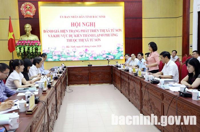 Bắc Ninh: Đề xuất thành lập thêm 5 phường thuộc thị xã Từ Sơn - Ảnh 1.