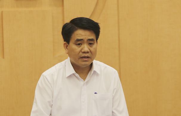 Chủ tịch Hà Nội kết luận về việc kiến nghị dừng cưỡng chế công trình 8B Lê Trực - Ảnh 1.