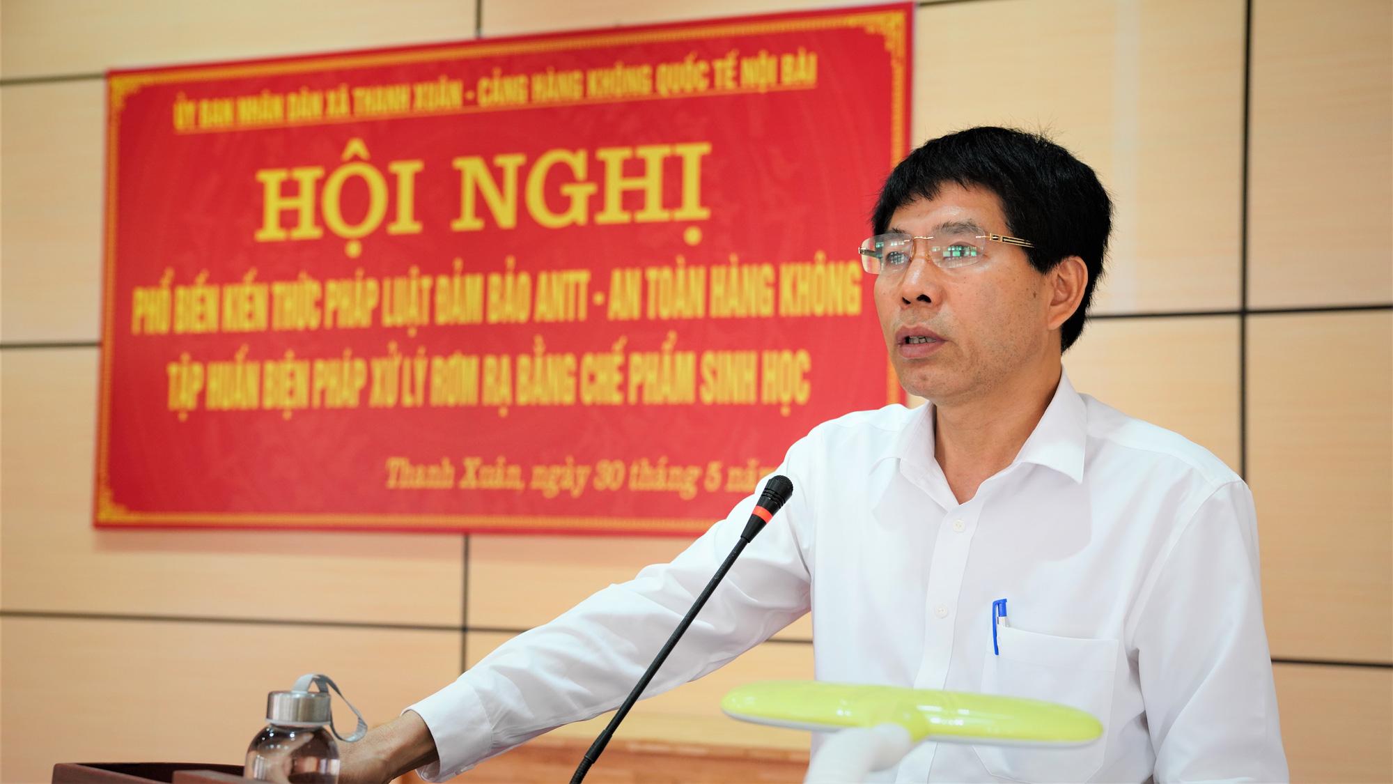 Nội Bài tuyên truyền về an toàn hàng không cho người dân khu vực giáp ranh sân bay - Ảnh 6.