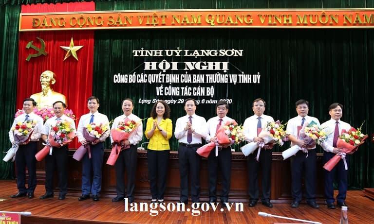 Điều động PCT tỉnh làm Bí thư thành uỷ Lạng Sơn - Ảnh 1.